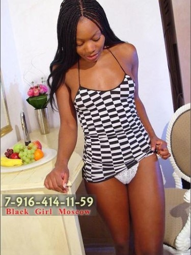 Teen Escort Stefani Black Girl in Moscow, Russia - Photo: 4